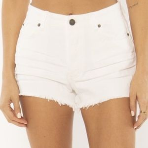 Amuse Society High Waist Shoreline Short NWT